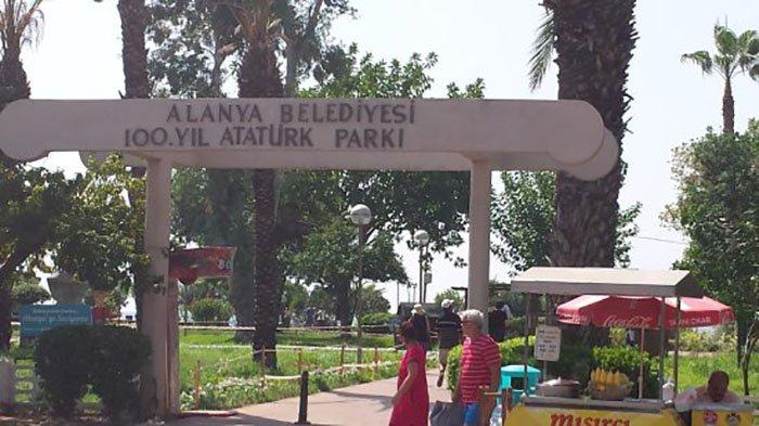 100. yıl atatürk parkı Alanya