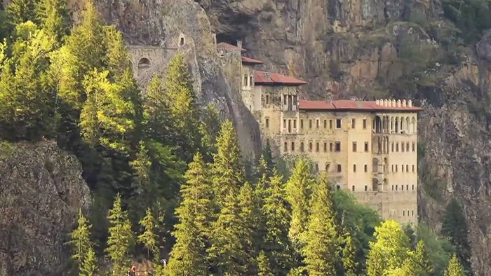 Sumela Monastery à Trabzon