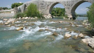 Aspendos Bridge Sidé Turquie