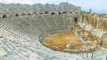 Greek Amphitheater Sidé Turquie